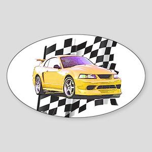 Mustang 1999 - 2004 Oval Sticker