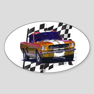 1966 Mustang Oval Sticker