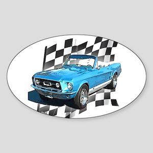 Mustang 1967 Oval Sticker