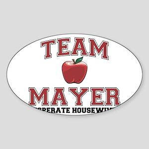 Team Mayer Sticker (Oval)