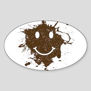 MudSmiley_product Sticker
