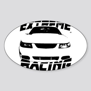Racing Mustang 99 2004 Sticker (Oval)