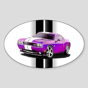 New Dodge Challenger Sticker (Oval)