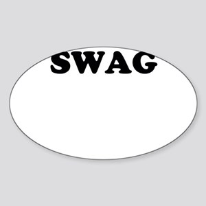 Swag Sticker (Oval)