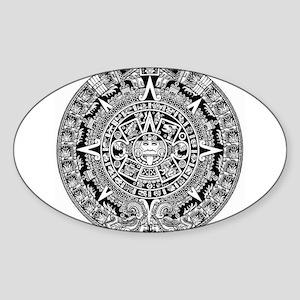 aztec-kopiya Sticker (Oval)