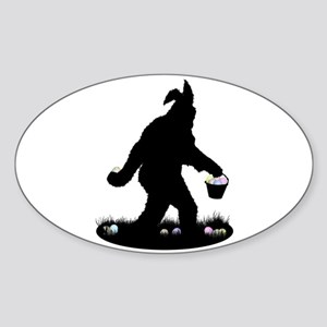 Easter Squatchin Sticker