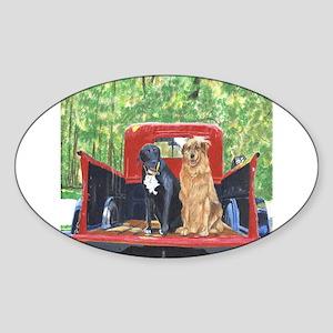 Antique Truck Sticker