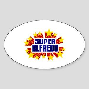 Alfredo the Super Hero Sticker