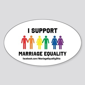 I Support Marriage Equality Sticker