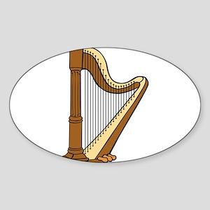 Musical Harp Sticker