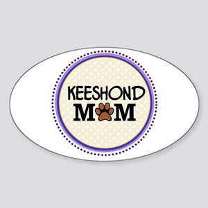 Keeshond Dog Mom Sticker