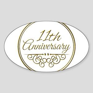 11th Anniversary Sticker
