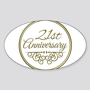 21st Anniversary Sticker
