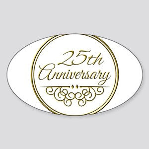 25th Anniversary Sticker