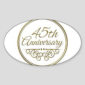 45th Anniversary Sticker