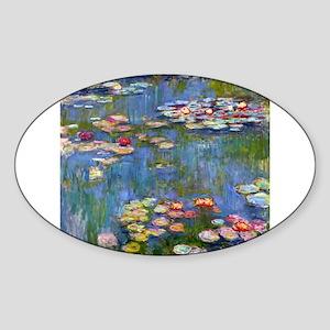 Monet Water lilies Sticker