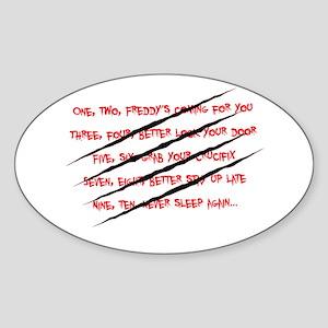 One, Two...Freddys... Sticker