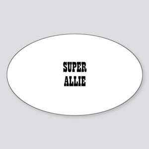 Super Allie Oval Sticker