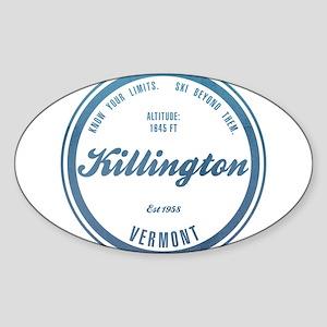 Killington Ski Resort Vermont Sticker