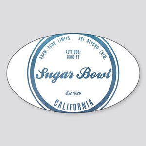 Sugar Bowl Ski Resort California Sticker