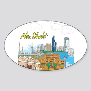 Abu Dhabi in the United Arab Emirates Sticker