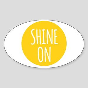 shine on Sticker