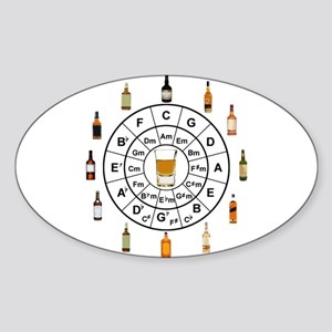 Circle of Whiskey 5th Sticker
