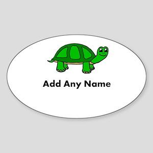 Turtle Design - Add Your Name! Sticker