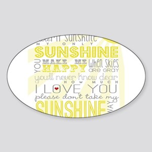 sunshine11 Sticker
