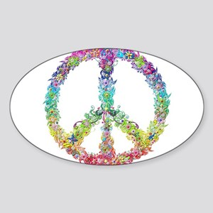 Peace of Flower Sticker