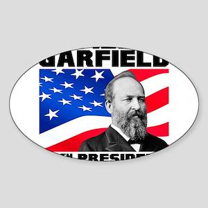 20 Garfield Sticker (Oval)