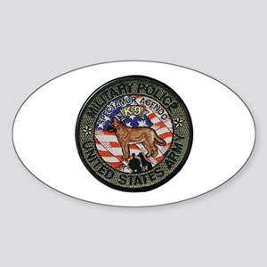 Army MP Canine Sticker