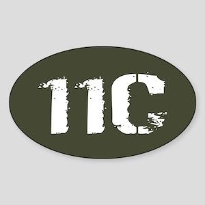 U.S. Army: 11C Mortarman (Military Sticker (Oval)