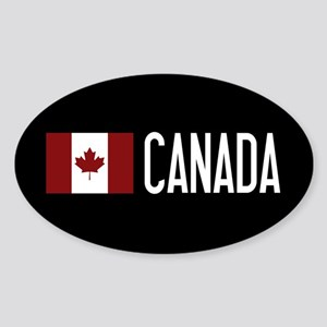 Canada: Canadian Flag & Canada Sticker