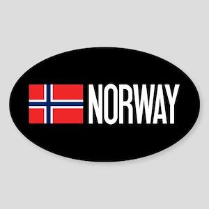 Norway: Norwegian Flag & Norway Sticker
