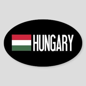Hungary: Hungarian Flag & Hungary Sticker