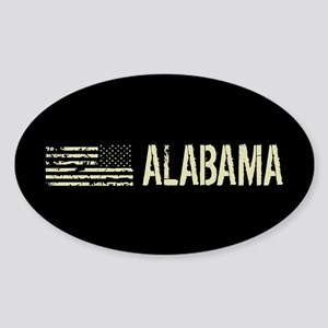 Black Flag: Alabama Sticker (Oval)