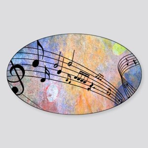 Abstract Music Sticker