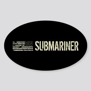 U.S. Navy: Submariner Sticker (Oval)