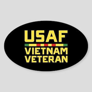 USAF Vietnam Veteran Sticker (Oval)