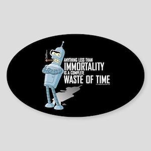 Bender Immortality Sticker (Oval)