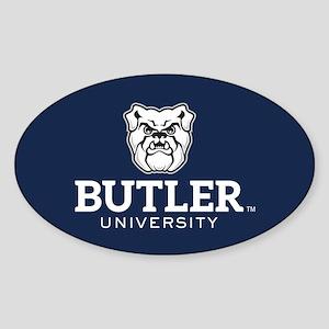 Butler University Bulldog Sticker (Oval)