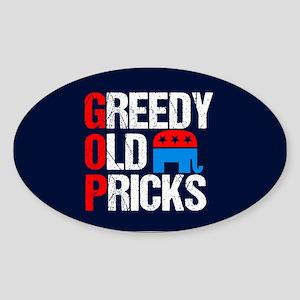 GOP Satire Sticker (Oval)