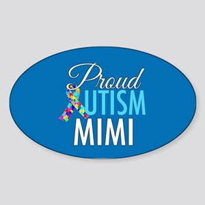 Autism Mimi Sticker (Oval)