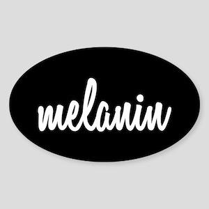 Melanin Sticker (Oval)