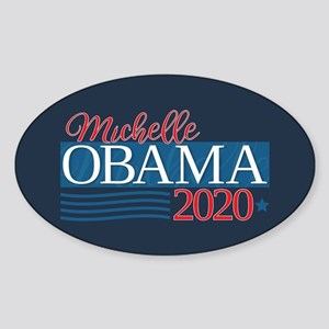 Michelle Obama 2020 Sticker (Oval)
