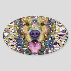 Rainbow Dog Sticker