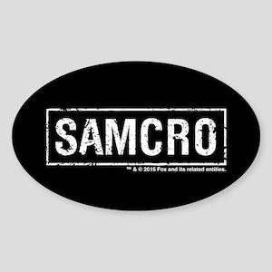 SAMCRO Sticker (Oval)