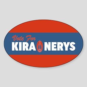 Vote For Kira DS9 Sticker
