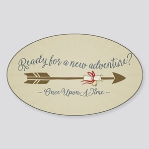 OUAT Ready For A New Adventure Sticker